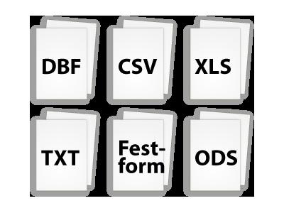 Kann alle wichtigen Dateiformate direkt öffnen
